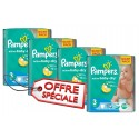 75 Couches Pampers Active Baby Dry taille 3 sur Sos Couches