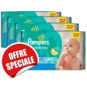 1020 Couches Pampers Active Baby Dry taille 3 sur Sos Couches