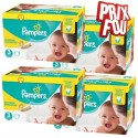 120 Couches Pampers New Baby Premium Protection taille 3 sur Sos Couches