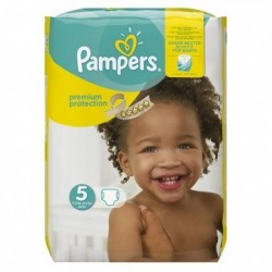 68 Couches Pampers New Baby Premium Protection taille 5