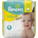 24 Couches Pampers New Baby Premium Protection taille 4 sur Sos Couches