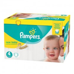 216 Couches Pampers New Baby Premium Protection taille 4