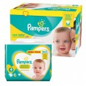 264 Couches Pampers New Baby Premium Protection taille 4 sur Sos Couches