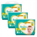504 Couches Pampers New Baby Premium Protection taille 4 sur Sos Couches