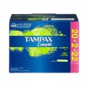20 Tampons Tampax Compak taille super avec applicateur sur Sos Couches