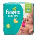 96 Couches Pampers Baby Dry taille 6 sur Sos Couches