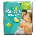 25 Couches Pampers Baby Dry taille 4 sur Sos Couches