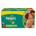 125 Couches Pampers Baby Dry taille 4 sur Sos Couches
