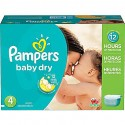 175 Couches Pampers Baby Dry taille 4 sur Sos Couches
