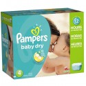325 Couches Pampers Baby Dry taille 4 sur Sos Couches