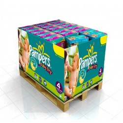 450 Couches Pampers Baby Dry taille 4