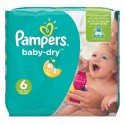 19 Couches Pampers Baby Dry taille 6 sur Sos Couches
