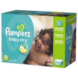 248 Couches Pampers Baby Dry taille 5