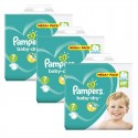 145 Couches Pampers Baby Dry taille 7 sur Sos Couches