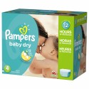 98 Couches Pampers Baby Dry taille 4 sur Sos Couches