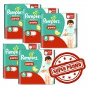 209 Couches Pampers Baby Dry Pants taille 6 sur Sos Couches