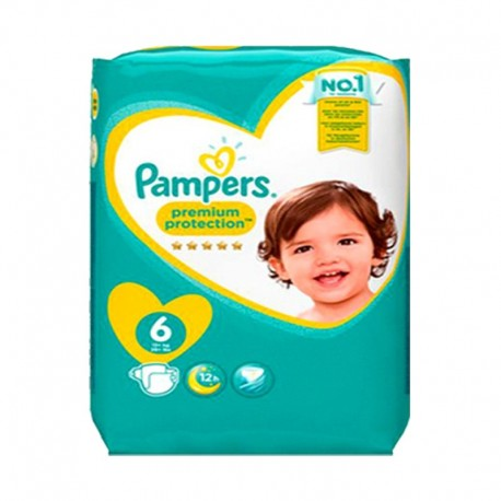 120 Couches Pampers New Baby Premium Protection taille 6 sur Sos Couches