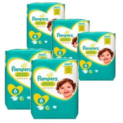 600 Couches Pampers New Baby Premium Protection taille 6