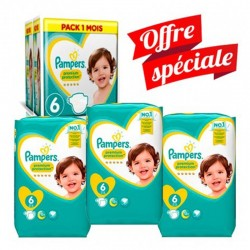 720 Couches Pampers New Baby Premium Protection taille 6