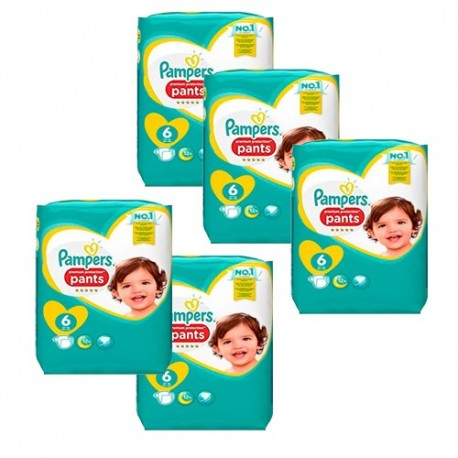 144 Couches Pampers Premium Protection Pants taille 6 sur Sos Couches
