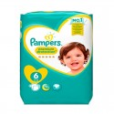 64 Couches Pampers Premium Protection taille 6 sur Sos Couches