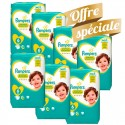 192 Couches Pampers Premium Protection taille 6 sur Sos Couches