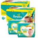 123 Couches Pampers Premium Protection taille 4 sur Sos Couches