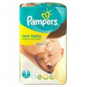 22 Couches Pampers Premium Protection taille 1 sur Sos Couches