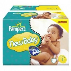 44 Couches Pampers Premium Protection taille 1