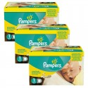 110 Couches Pampers Premium Protection taille 1 sur Sos Couches