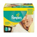 176 Couches Pampers Premium Protection taille 1 sur Sos Couches