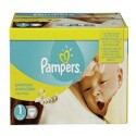 286 Couches Pampers Premium Protection taille 1 sur Sos Couches