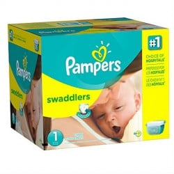 374 Couches Pampers Premium Protection taille 1