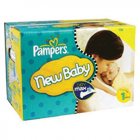 440 Couches Pampers Premium Protection taille 1 sur Sos Couches