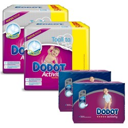 234 Couches Dodot Activity taille 6