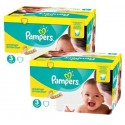 272 Couches Pampers New Baby Premium Protection taille 3 sur Sos Couches