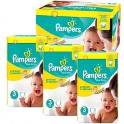 544 Couches Pampers New Baby Premium Protection taille 3