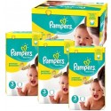 544 Couches Pampers New Baby Premium Protection taille 3 sur Sos Couches