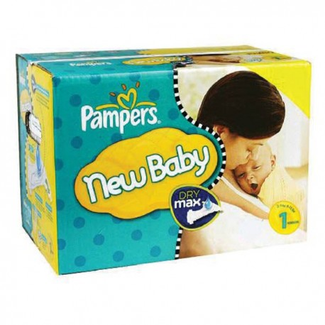 728 Couches Pampers Premium Protection taille 1 sur Sos Couches