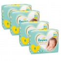 180 Couches Pampers Premium Care taille 0 sur Sos Couches