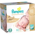 208 Couches Pampers Premium Care taille 1 sur Sos Couches