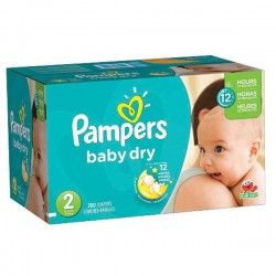 136 Couches Pampers New Baby Dry taille 2