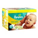 476 Couches Pampers New Baby Dry taille 2 sur Sos Couches