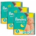 884 Couches Pampers New Baby Dry taille 2 sur Sos Couches