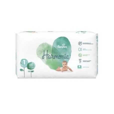 68 Couches Pampers Harmonie taille 1 sur Sos Couches