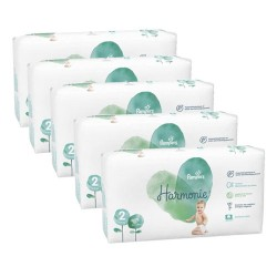 624 Couches Pampers Harmonie taille 2