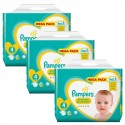 336 Couches Pampers Premium Protection taille 4 sur Sos Couches