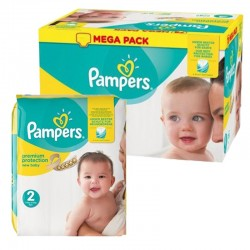 496 Couches Pampers Premium Protection taille 2