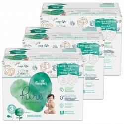 242 Couches Pampers Pure Protection taille 3