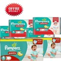 90 Couches Pampers Baby Dry Pants taille 4 sur Sos Couches